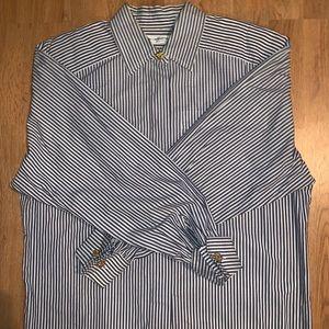 Liz Claiborne 100% Cotton Size:8 Button Down